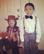 Alfalfa & Cowboy Costumes for Boys
