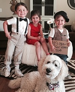 Alfalfa & The Gang Homemade Costume