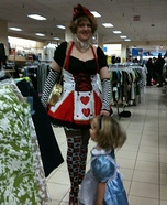 Alice and the Queen of Hearts Costume