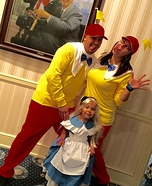 Alice and the Tweedles Homemade Costume