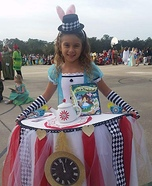 Alice at the Tea Party Costume