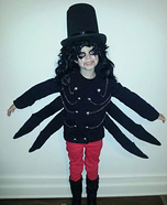 Alice Cooper Homemade Costume