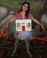 Alice in Wonderland Homemade Costume