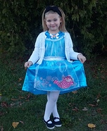 Girl's Alice in Wonderland Costume