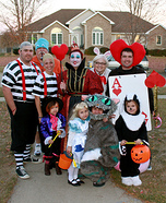 Alice in Wonderland Character Costumes