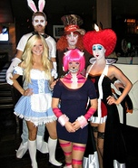 Group costume ideas - Alice in Wonderland Costumes