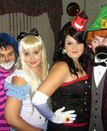 Homemade Alice in Wonderland Costumes