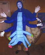 Alice in Wonderland Caterpillar Homemade Costume