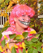 Alice in Wonderland Cheshire Cat Homemade Costume