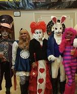 Alice in Wonderland Crew Homemade Costume