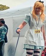Alice in Wonderland & The White Rabbit Homemade Costume