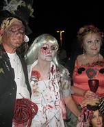 Alice in Wonderland Zombies Costume