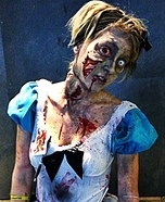 Scary Halloween costume ideas - Alice in Zombieland Costume
