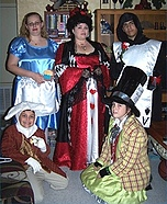 Alice in Wonderland Characters Costumes