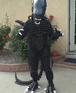 Creative Homemade Alien Costume