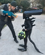 Alien Homemade Costume