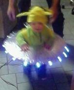 Alien Baby Homemade Costume