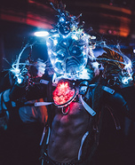 Alien Cyborg Fishman Homemade Costume