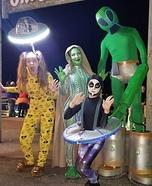 Alien Family Homemade Costume