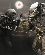 Alien vs. Predator Homemade Costume