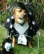 Alien Warrior on Patrol Dog Homemade Costume