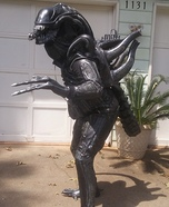 Alien Xenomorph Homemade Costume