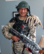 Aliens Colonial Marine Homemade Costume