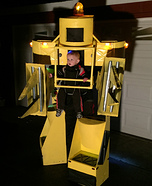 Aliens Powerloader Homemade Costume