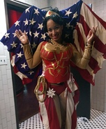 All American Wonder Woman Homemade Costume