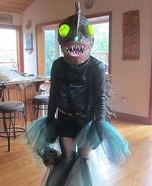 DIY Angler Fish Costume