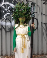 Amazing Medusa Homemade Costume