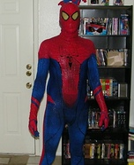 Homemade Spiderman Costume