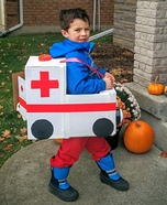 Ambulance and Ice Cream Truck Homemade Costume