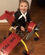 Amelia Earhart Homemade Costume