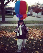 Amelia Earhart and her Hot Air Balloon Homemade Costume