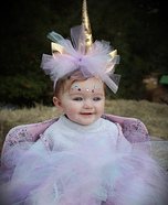 Amelia the Unicorn Homemade Costume