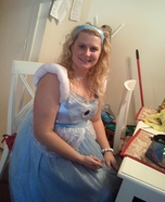 Homemade American Princess Costume
