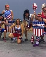 American Gladiators Homemade Costume