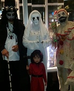 American Horror Family Homemade Costume