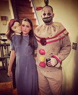 DIY couples costume - American Horror Story - Freakshow Costume