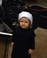 Amish Baby Homemade Costume