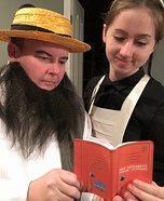 Amish Couple Homemade Costume