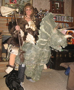 Ancient Dino Warrior Homemade Costume