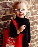 Andy Warhol Baby Costume