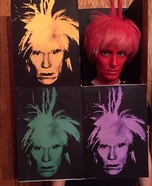 Andy Warhol Homemade Costume