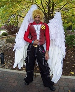 Angel from the X-Men Homemade Costume