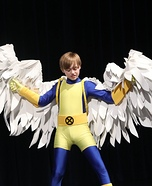 Angel from X-Men Homemade Costume