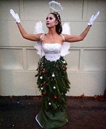 Angel on a Christmas Tree Homemade Costume