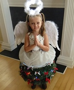 Angel on top of the Christmas Tree Homemade Costume