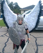 Angel Warrior Homemade Costume